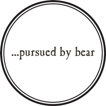 Pursued by bear